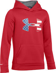 under armour boys u0027 big flag logo af hoodie field u0026 stream