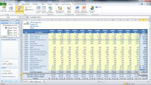 Corporate Budget Template Excel 21st Century Budgeting For Dynamics Nav Erp Software