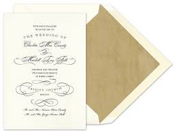 Vera Wang Wedding Invitations Noted Finestationery Com February 2011