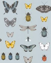 papilio by clarke clarke mineral gilver wallpaper direct