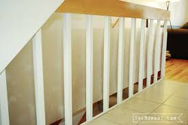 Banister Meaning Babyproofing The Stair Railings With Plexiglass The Mombot