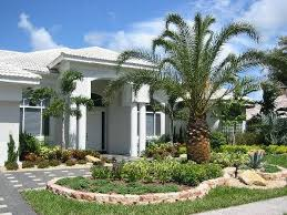 Modern Front Yard Desert Landscaping With Palm Tree And 1255 Best Front Yard Landscaping Ideas Images On Pinterest