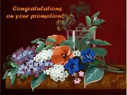 congratulations promotion card congratulatory msg for a loved one free promotion ecards 123