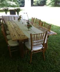 renting tables 90 best farm tables for rent images on farm tables
