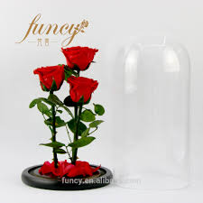 forever roses wholesale forever roses 3 pcs in glass dome preserved roses