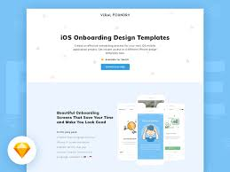 ios onboarding design sketch templates freebie download sketch