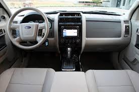 Ford Escape Interior - ford escape automotive todays