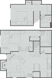 Penthouse Floor Plans Extended Stay Hotel Suites And Floor Plans Residence Inn