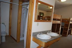 Lodge Style Bathroom Cabins Frost Valley Ymca