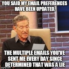 Spam Meme - report spam and unsubscribe meme guy