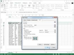 how to use the print titles feature in excel 2013 dummies