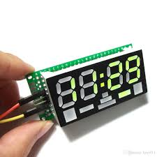Diy Kit by Discount Newest Electronic Mini Clock Simple 4 Digit Diy Digital