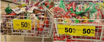christmas clearance christmas clearance including candy is 50 at rite aid