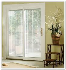 Window Blinds Patio Doors Great Sliding Patio Doors With Blinds With Window Treatments For