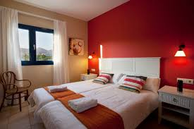 Master Bedroom With Red Color Scheme With New Ideas Red Color - Bedrooms color
