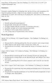 Resume Flight Attendant Download Valet Parking Resume Sample Haadyaooverbayresort Com