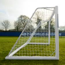 12 x 6 forza alu110 freestanding soccer goal net world sports