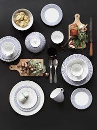 decordots blue trend in home decor blue tableware
