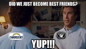 Chargers Raiders Meme - charger fans going nuts today imgur