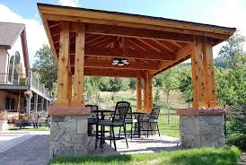 Backyard Pavilion Plans Ideas Backyard Pavilion Kits Traditional Wooden Pavilions Wooden