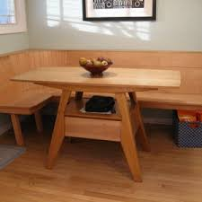 simple kitchen design with maple wood kitchen table corner wood