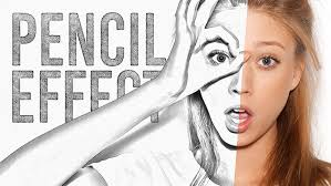 video tutorial pencil sketch drawing effect in adobe photoshop