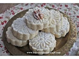 cuisine alg駻ienne gateaux recettes ghribia ou ghribiya aux noix gâteau algerien facile les joyaux