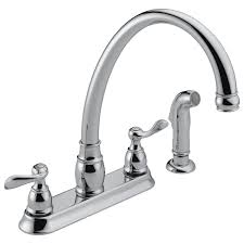 p99596 two handle kitchen faucet