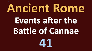 second punic war events after the battle of cannae 41