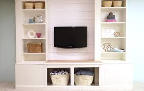White Cabinets With Blue Walls Wall Units Awesome Diy Wall Unit Terrific Diy Wall Unit Built In
