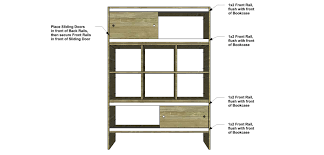Furniture Plans Bookcase Free by Free Diy Furniture Plans How To Build A Duet Bunk Bed Trundle