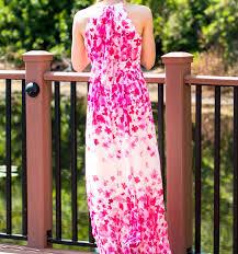 eliza j dresses vistana resort eliza j print pleated chiffon maxi dress