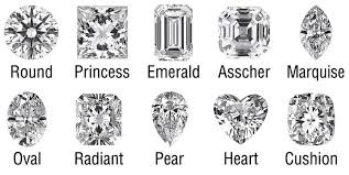 engagement ring cuts types of cut engagement rings