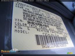 nissan color code k36 magnetic gray metallic dealerrevs com