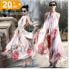 2016 fashion women dress summer bohemian long maxi dress party