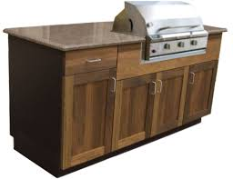 How To Build Outdoor Kitchen Cabinets Teak Outdoor Kitchen Cabinets Inspirations With Lowes Creative