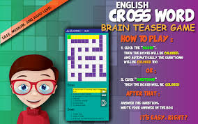 cross word puzzle beautiful template games apk free download