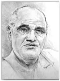 sketch of shri om prakash by sagar desipainters com