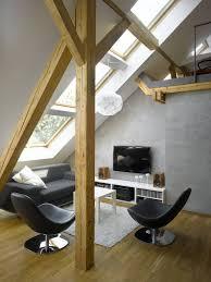 apartment shabby chic attic apartments decor with brick floor