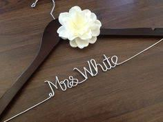 personalized wedding hangers personalized custom wire wedding hanger and date bridal hanger