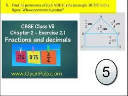 ncert solutions for class 7th maths chapter 2 fractions and