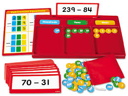 hands on regrouping kit subtraction at lakeshore learning