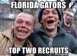 Florida Gator Memes - florida gators top two recruits alabama fans meme generator