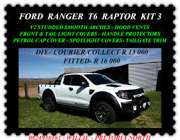 ford ranger raptor ford t6 raptor kits mtba mighty thor bakkie accessories