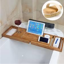 Bathtub Book Tray Bath Caddies Storage Bath Men