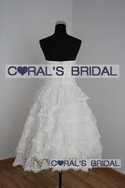 wd09483 f 50 u0027s inspired tea length lace wedding dress coral u0027s