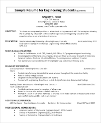 Simple Resume For College Student Resume Example For Students Resume Example For Students With No