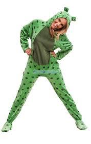 lemur halloween costume fuzzy frog costumes pajamas footie pjs onesies one piece