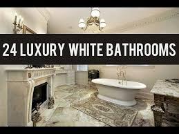 24 white luxury master bathroom ideas youtube