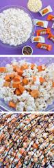 gourmet halloween treats halloween candy popcorn recipe kit kat bars chocolate mix and